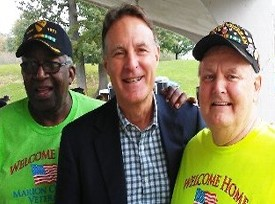 Thomas Harris, Sen Evan Bayh & Don Hawkins