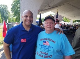 Andre Carson and Don Hawkins