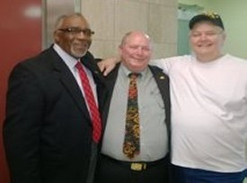 Dr Willie Jenkins, Russ Eaglin and Don Hawkins