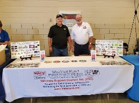 Don Hawkins & Dave Sassman at the 2019 Stand Down