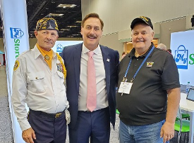 Paul Norton, Mike Lindell (My Pillow Guy) & Don hawkins